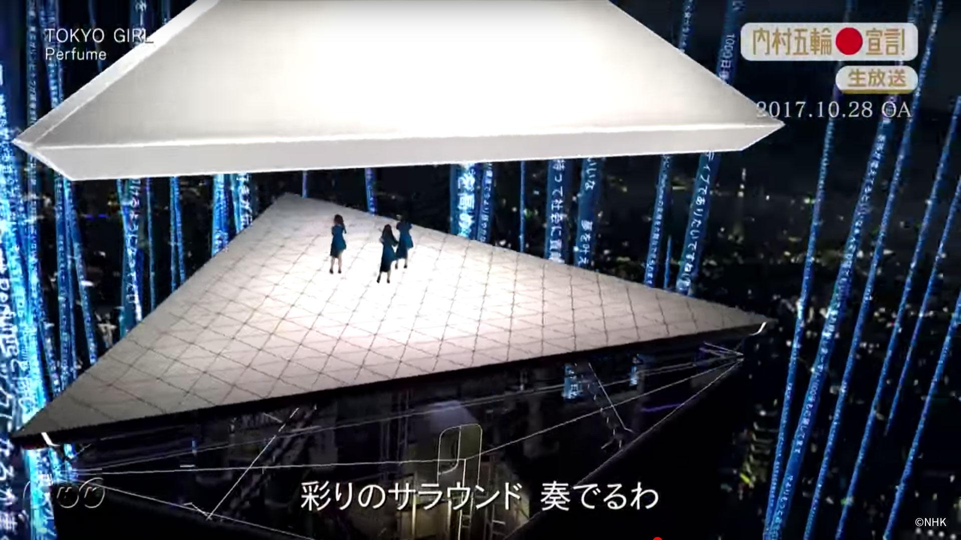 """内村五輪宣言!~TOKYO 2020開幕 1000日前スペシャル~ """"TOKYO GIRL"""""""